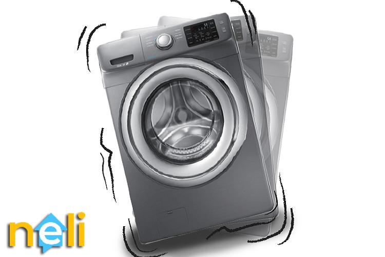 علت لرزش در ماشین لباسشویی