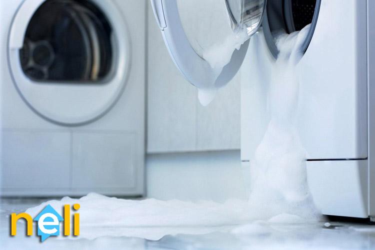علت نشتی آب در ماشین لباسشویی