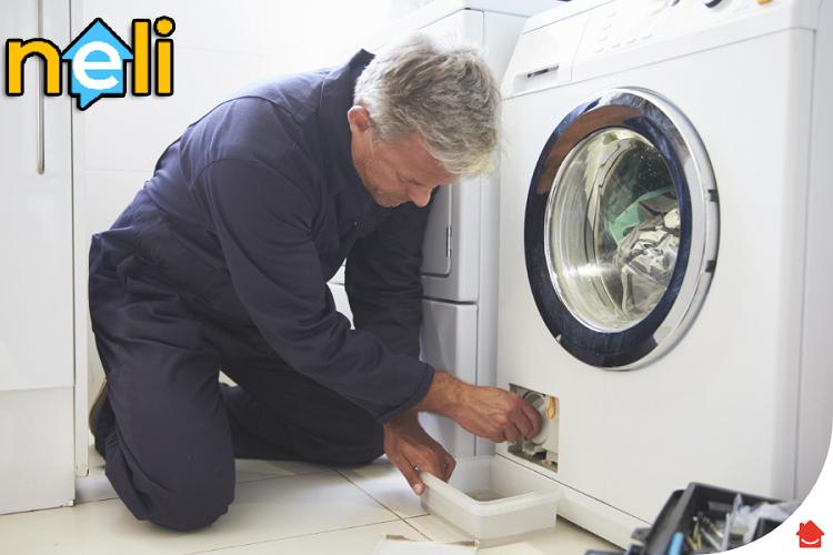 علت نشت آب از ماشین لباسشویی