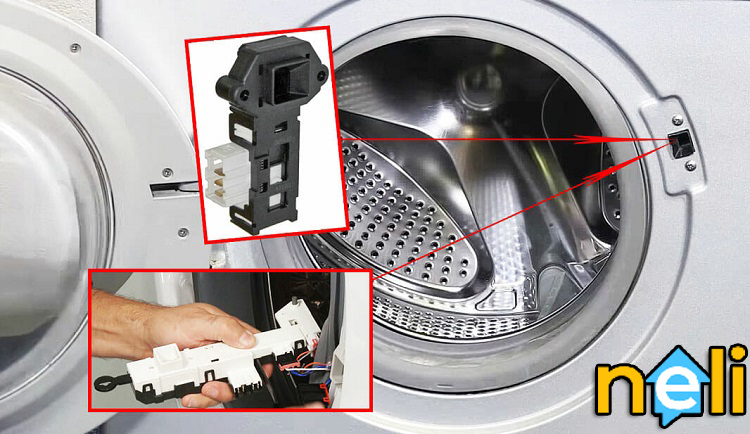 تعمیر میکروسوئیچ ماشین لباسشویی