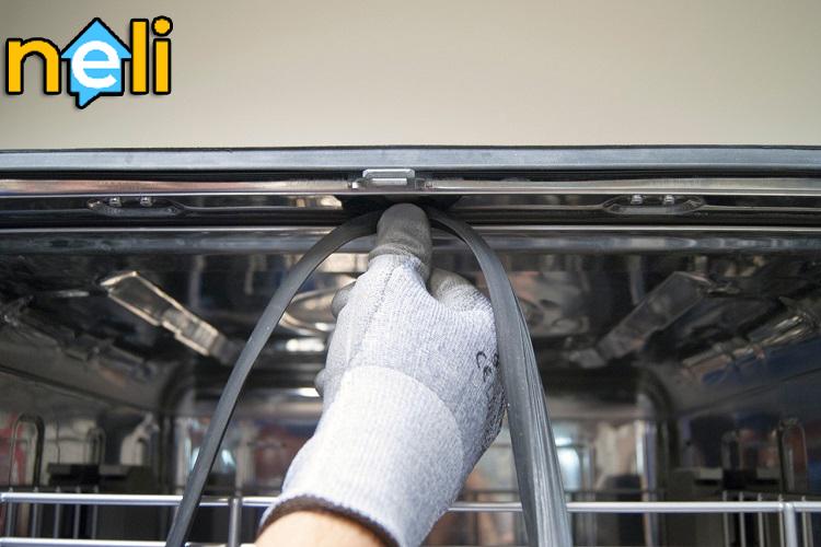تعمیر لاستیک درب ماشین ظرفشویی