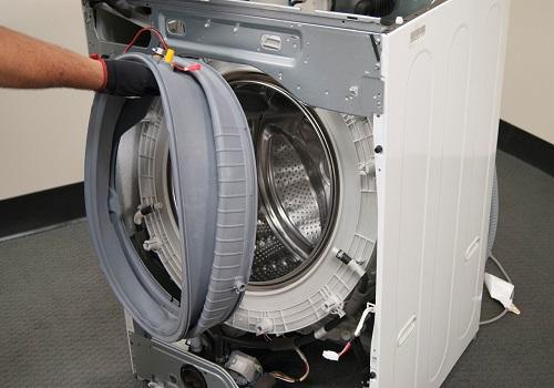 تعمیر و تعویض لاستیک درب ماشین لباسشویی