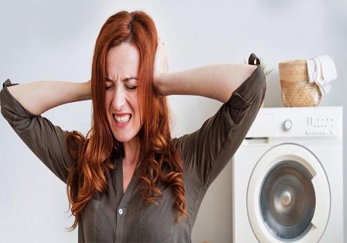 رفع صدای زیاد ماشین لباسشویی