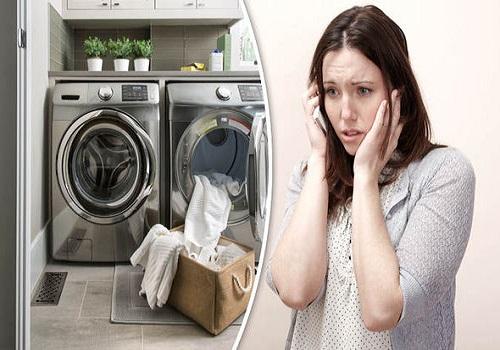 صدای زیاد ماشین لباسشویی