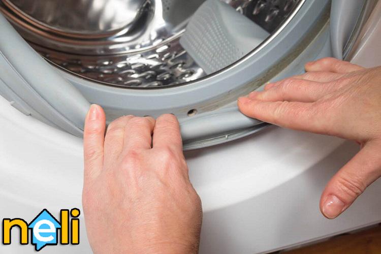 تعمیر لاستیک درب ماشین لباسشویی