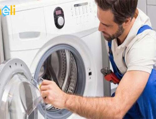تعمیر درب ماشین لباسشویی ال جی