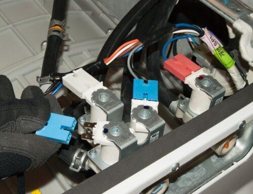تعمیر شیر برقی ماشین لباسشویی ال جی