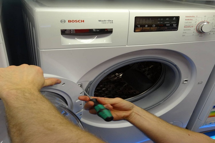 تعمیر ماشین لباسشویی بوش BOSCH