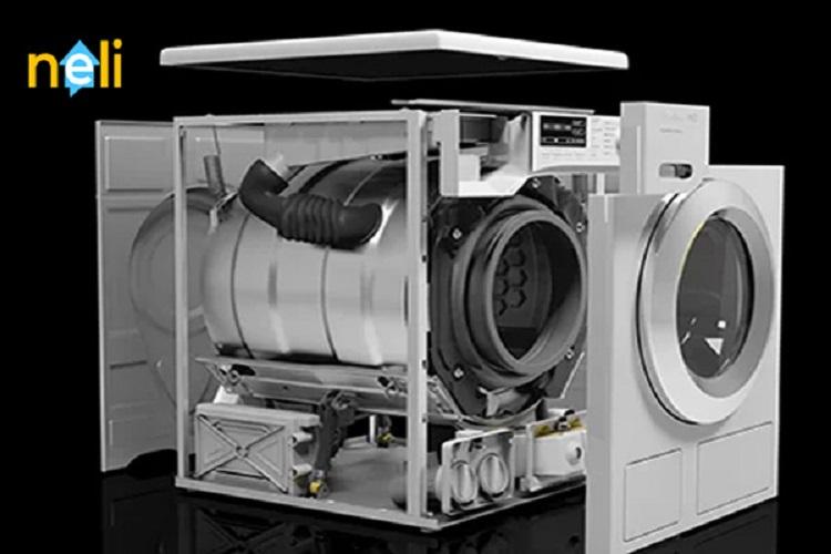 معرفی کامل قطعات و اجزای ماشین لباسشویی