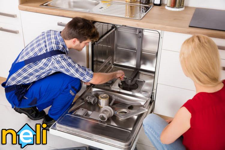 تعمیر ماشین ظرفشویی ایستاده