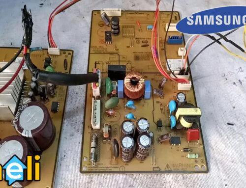 تعمیر برد الکترونیکی یخچال سامسونگ