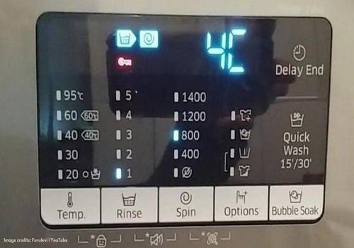 ارور در صفحه نمایشگر ماشین ظرفشویی